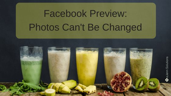 Facebook Photo Preview Change