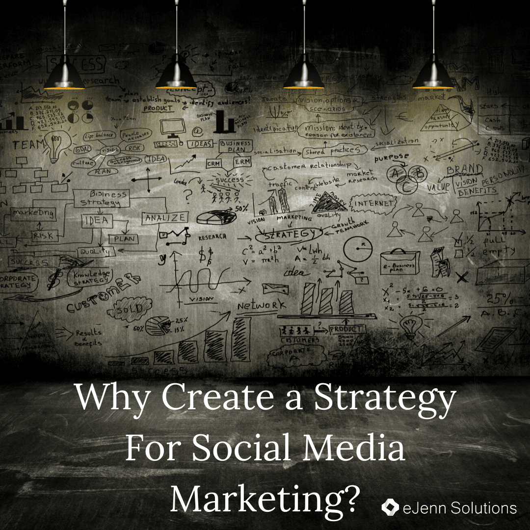 why create a strategy for social media marketing